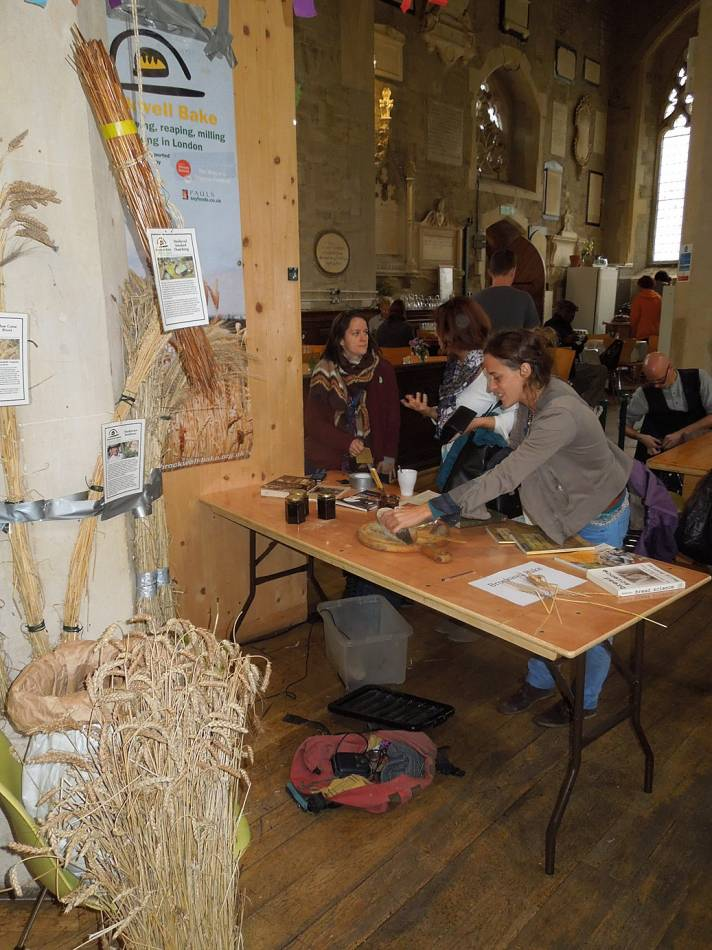 BBA at London Free Seed Festival, Garden Museum, Lambeth Place with Italian colleagues - 12:10pm&nbsp;12<sup>th</sup>&nbsp;Oct.&nbsp;'14
