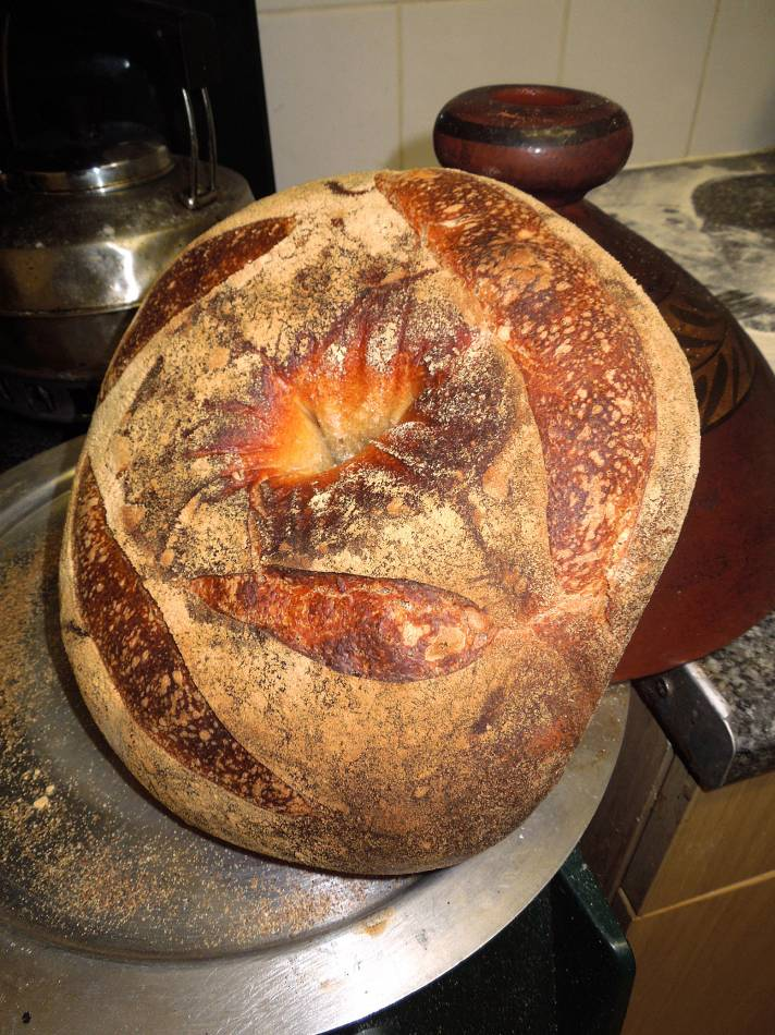 latest crown Widgeon out of oven - 8:11pm&nbsp;13<sup>th</sup>&nbsp;Feb.&nbsp;'14