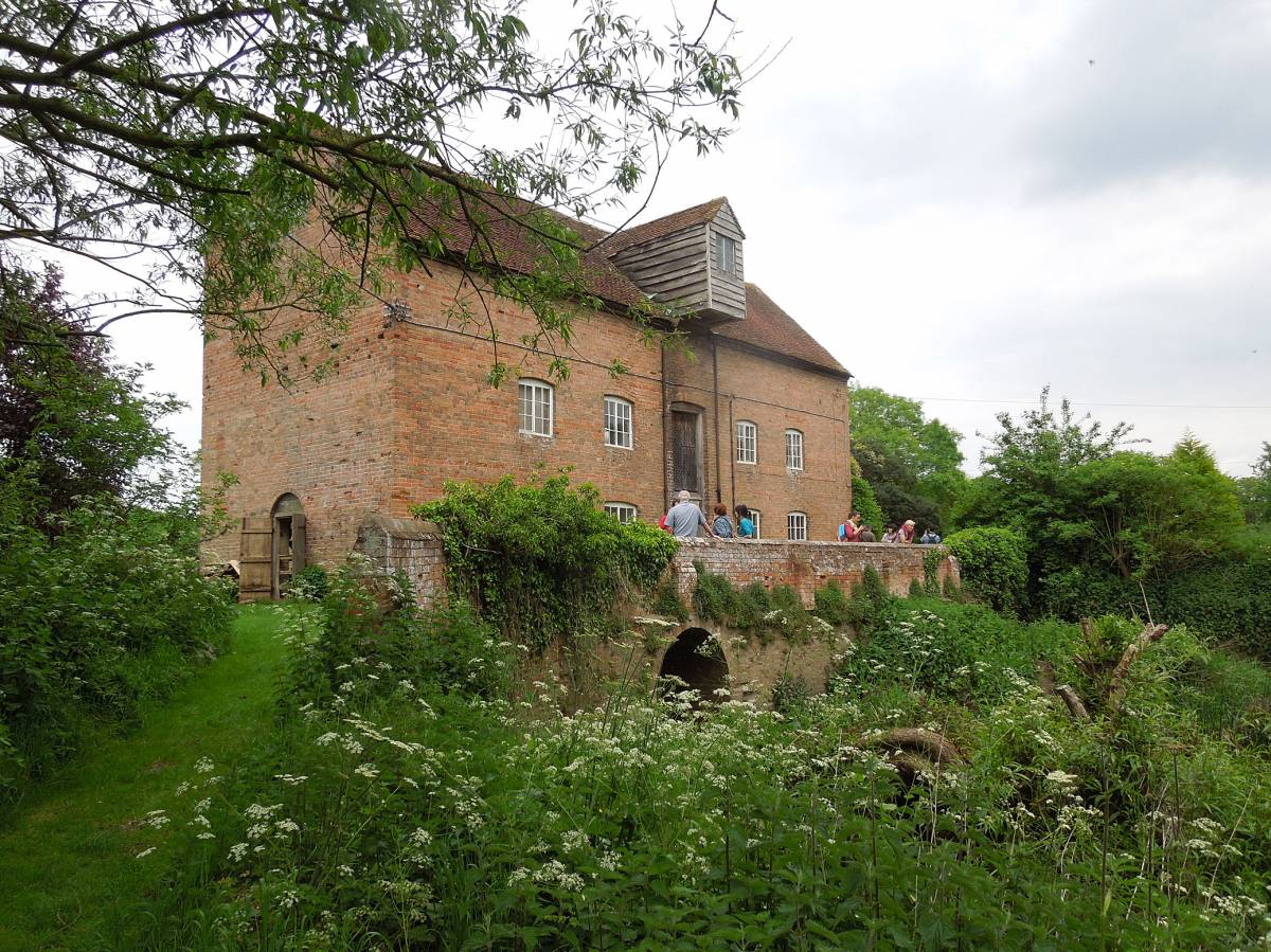 trip to Charlecote Mill with Garden Organics - 1:53pm&nbsp;15<sup>th</sup>&nbsp;May.&nbsp;'14