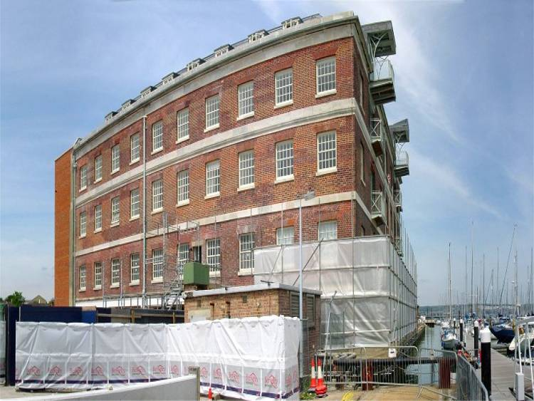 Bakery building, Royal Clarence Yard, victualling depot of the Royal Navy and original home of my Artofex