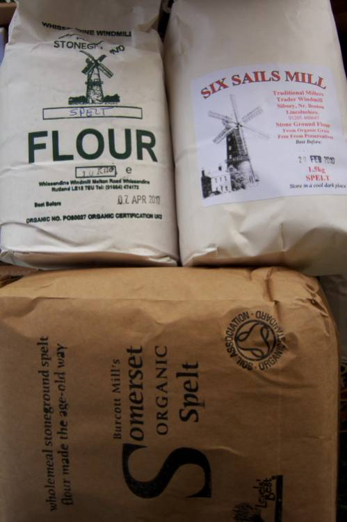 flours on the flour stall, pic <a href='http://www.realbreadcampaign.org/' target='_blank'>Chris Young</a>