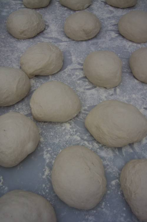 dough shaped for pizzas, pic <a href='http://www.realbreadcampaign.org/' target='_blank'>Chris Young</a>