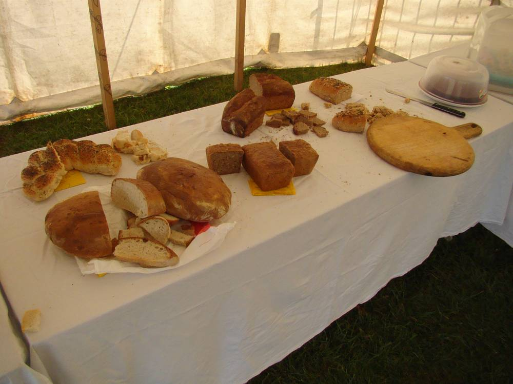 white bread and non-wheat bread selection after judging