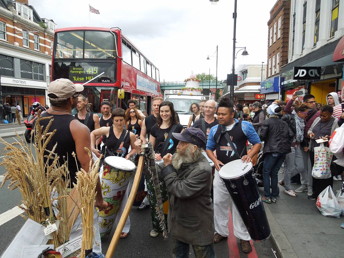 Brixton Windmill parade and festival 2013 - 12:49pm&nbsp;21<sup>st</sup>&nbsp;Jun.&nbsp;'13