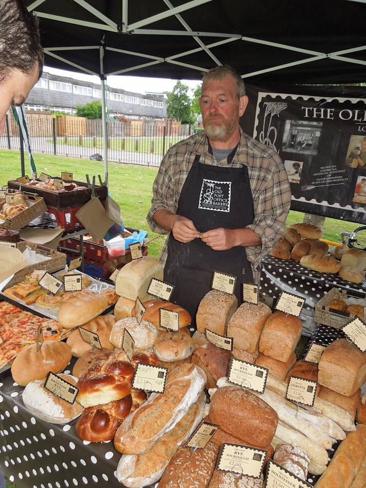 Windmill and the Ashby loaves on sale - Brixton Windmill parade and festival 2013 - 2:09pm&nbsp;21<sup>st</sup>&nbsp;Jun.&nbsp;'13