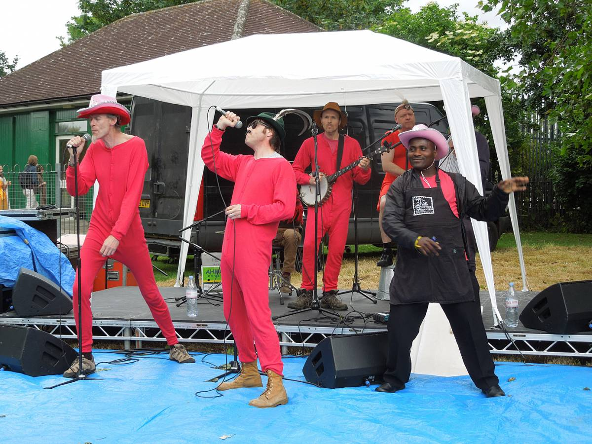 OPB also make music - Brixton Windmill parade and festival 2013 - 2:12pm&nbsp;21<sup>st</sup>&nbsp;Jun.&nbsp;'13