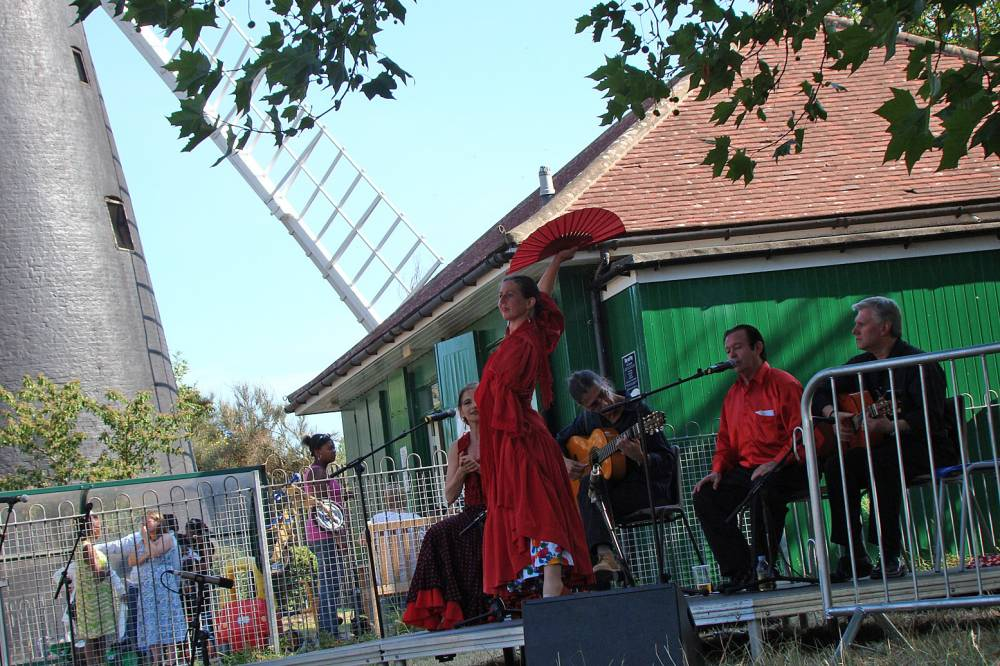 flamenco at Brixton Windmill Festival 11/7/10