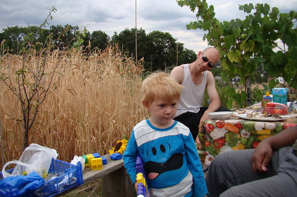 Joshua and Steve at our Lammas Day #1