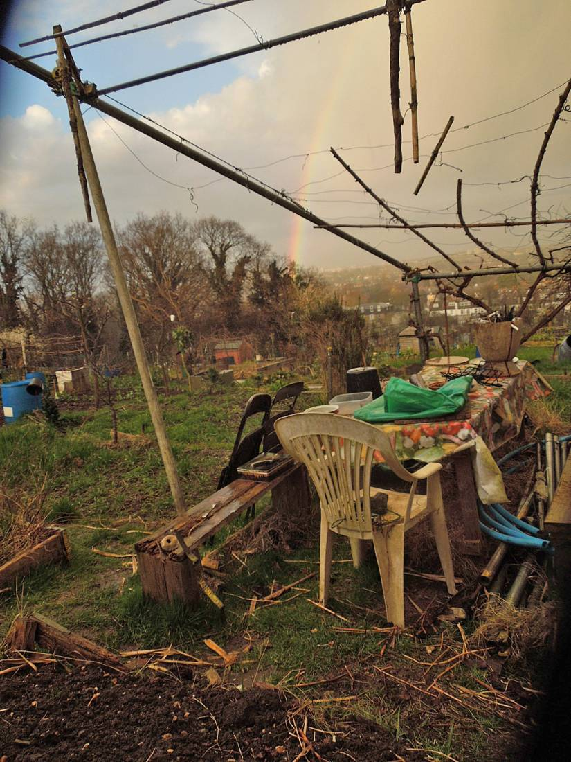 early Spring Rosendale Allotments - 6:44pm&nbsp;24<sup>th</sup>&nbsp;Mar.&nbsp;'15