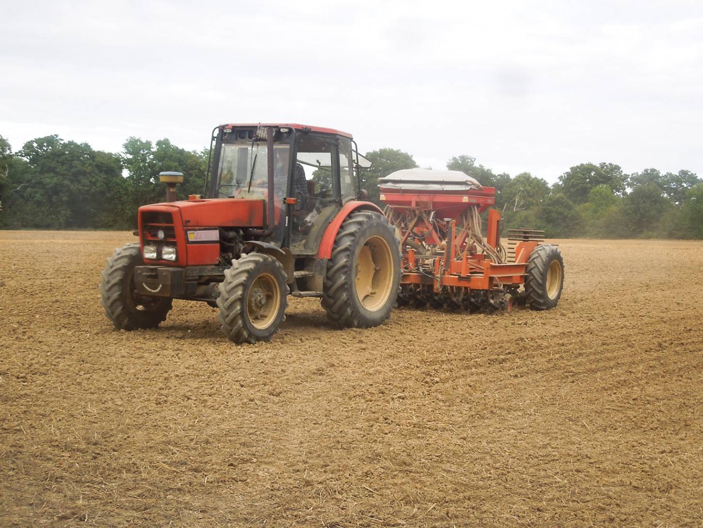 Sowing for 2016/17 season on Lodge Farm, Bletchingley - 4:48pm&nbsp;28<sup>th</sup>&nbsp;Sep.&nbsp;'16