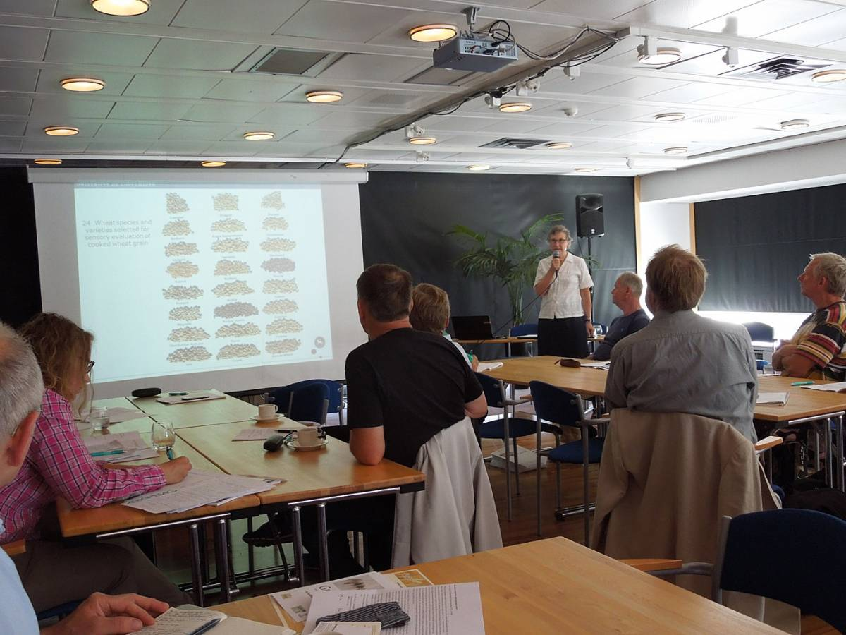 BBA > Nordic > Caroline Rüdinger gives a very interesting talk on blind taste and aroma tests for different wheats - 7:46am&nbsp;15<sup>th</sup>&nbsp;Jul.&nbsp;'14