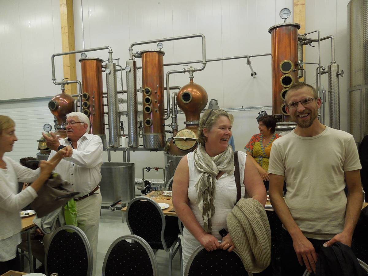BBA > Nordic > Michael Björklund's <a href=http://smakbyn.ax/ target=_blank>Smakbyn, Kastelholm</a> > in the distillery - 4:27pm&nbsp;15<sup>th</sup>&nbsp;Jul.&nbsp;'14