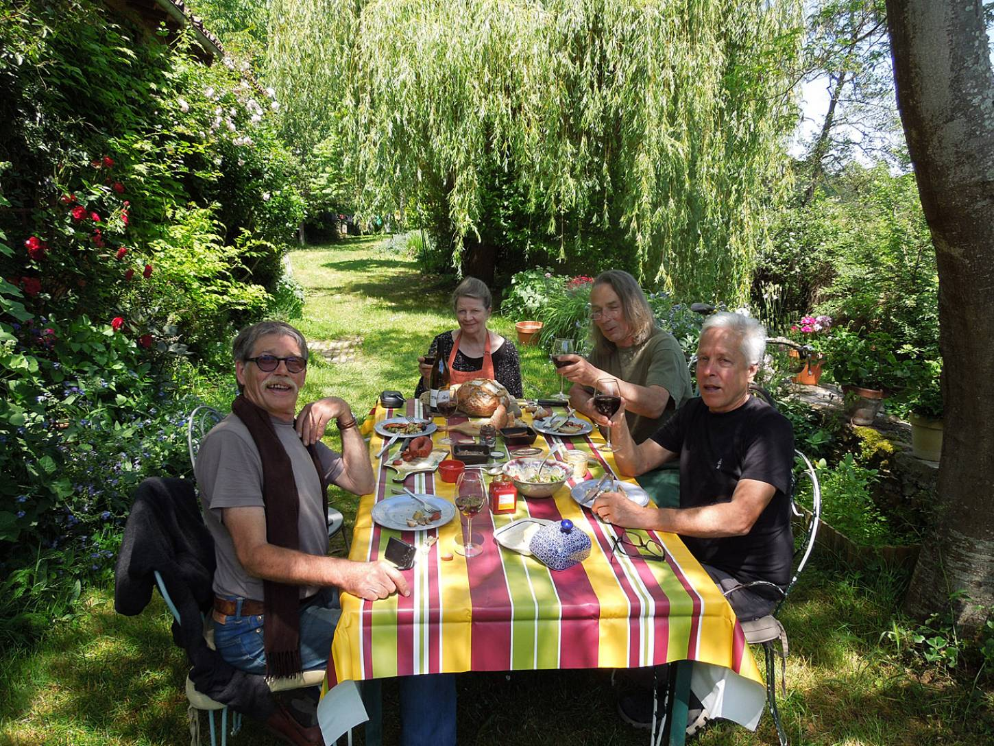 on the terrace - 1:32pm&nbsp;31<sup>st</sup>&nbsp;May.&nbsp;'15