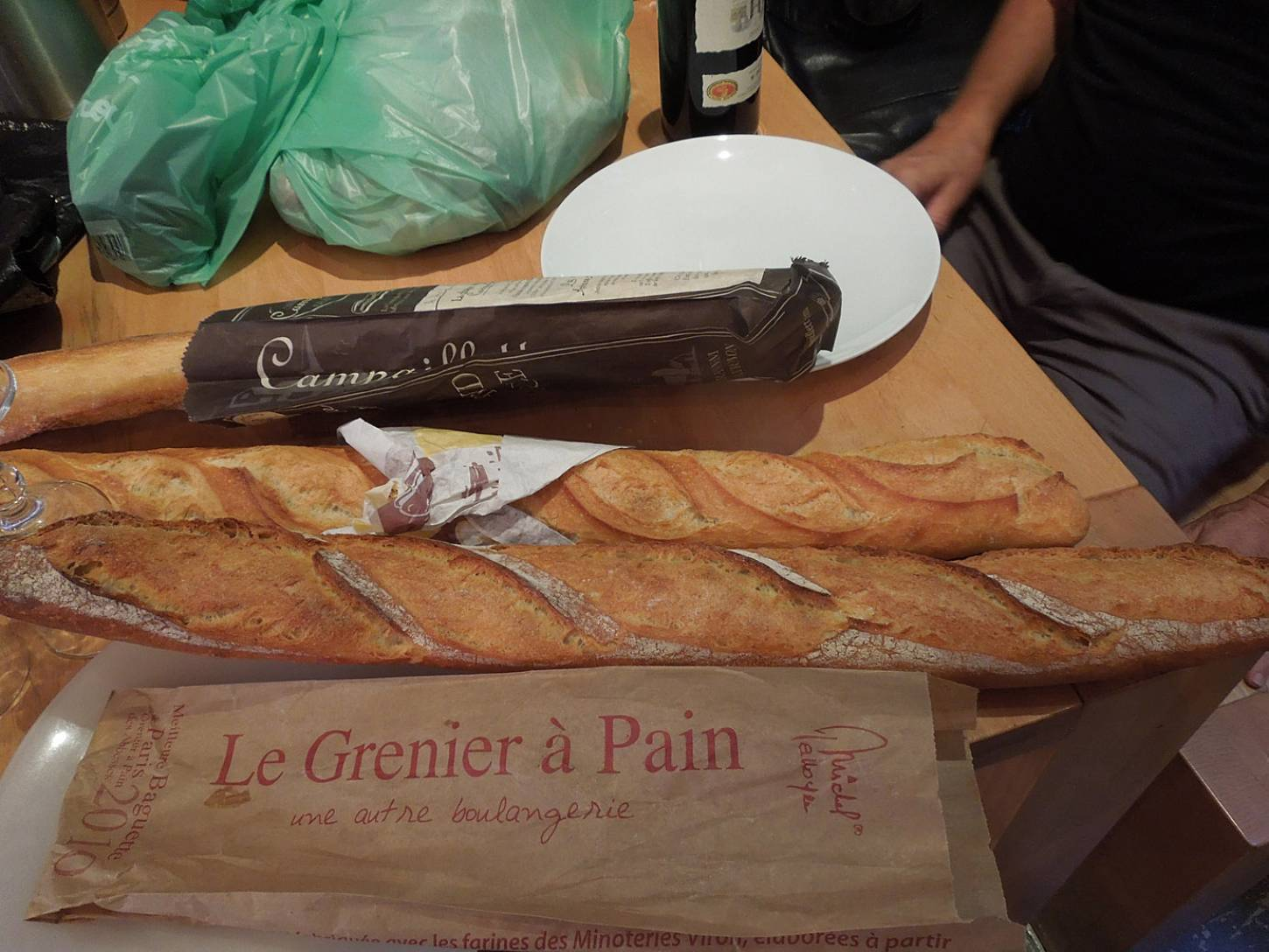 bakers and baguettes of Paris - best baguette winner 2010 and 2015 <a href='http://www.metronews.fr/paris/meilleure-baguette-de-paris-djibril-bodian-aux-abbesses-a-nouveau-prime/mocz!ppmMO8Vo9OGU/' target=_blank>Djibril Bodian of Le Grenier à Pain Abbesses</a> - 7:19pm&nbsp;1<sup>st</sup>&nbsp;Jun.&nbsp;'15