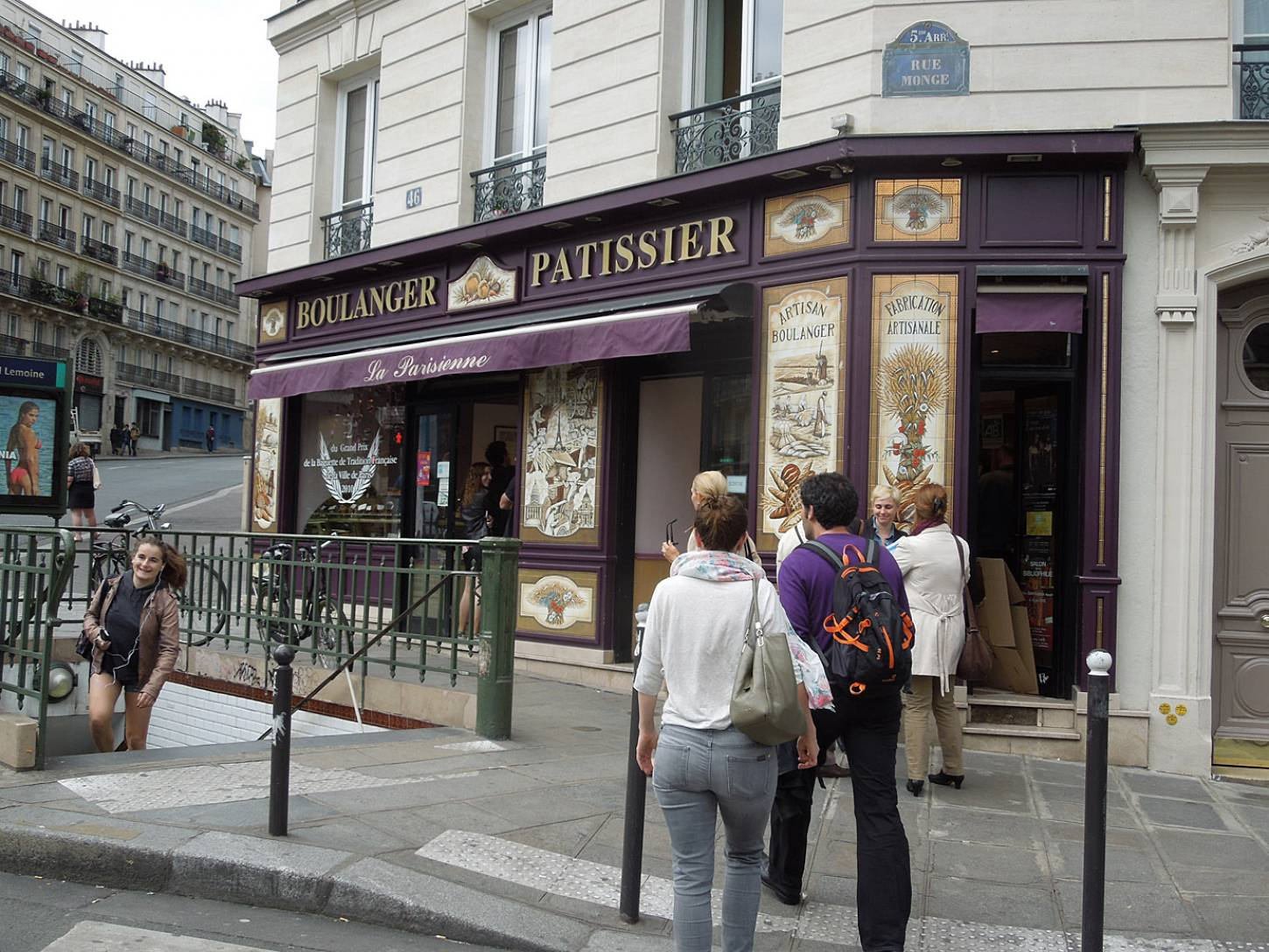 bakers and baguettes of Paris - 11:38am&nbsp;2<sup>nd</sup>&nbsp;Jun.&nbsp;'15