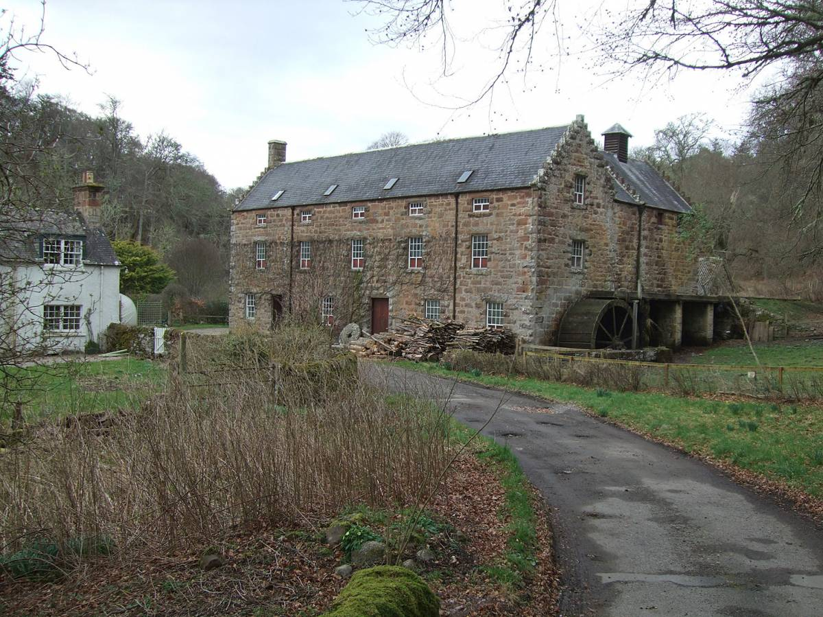 visit to Golspie Mill, Sutherland - 4:49pm&nbsp;12<sup>th</sup>&nbsp;Mar.&nbsp;'12