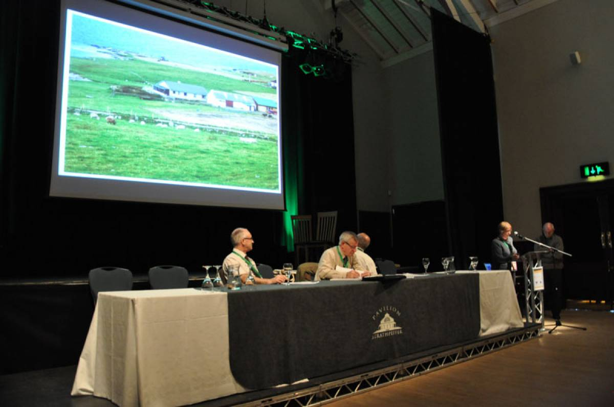 LLD forum 2012, Strathpeffer, a Shetlander describes her croft - 3:02pm&nbsp;9<sup>th</sup>&nbsp;Mar.&nbsp;'12