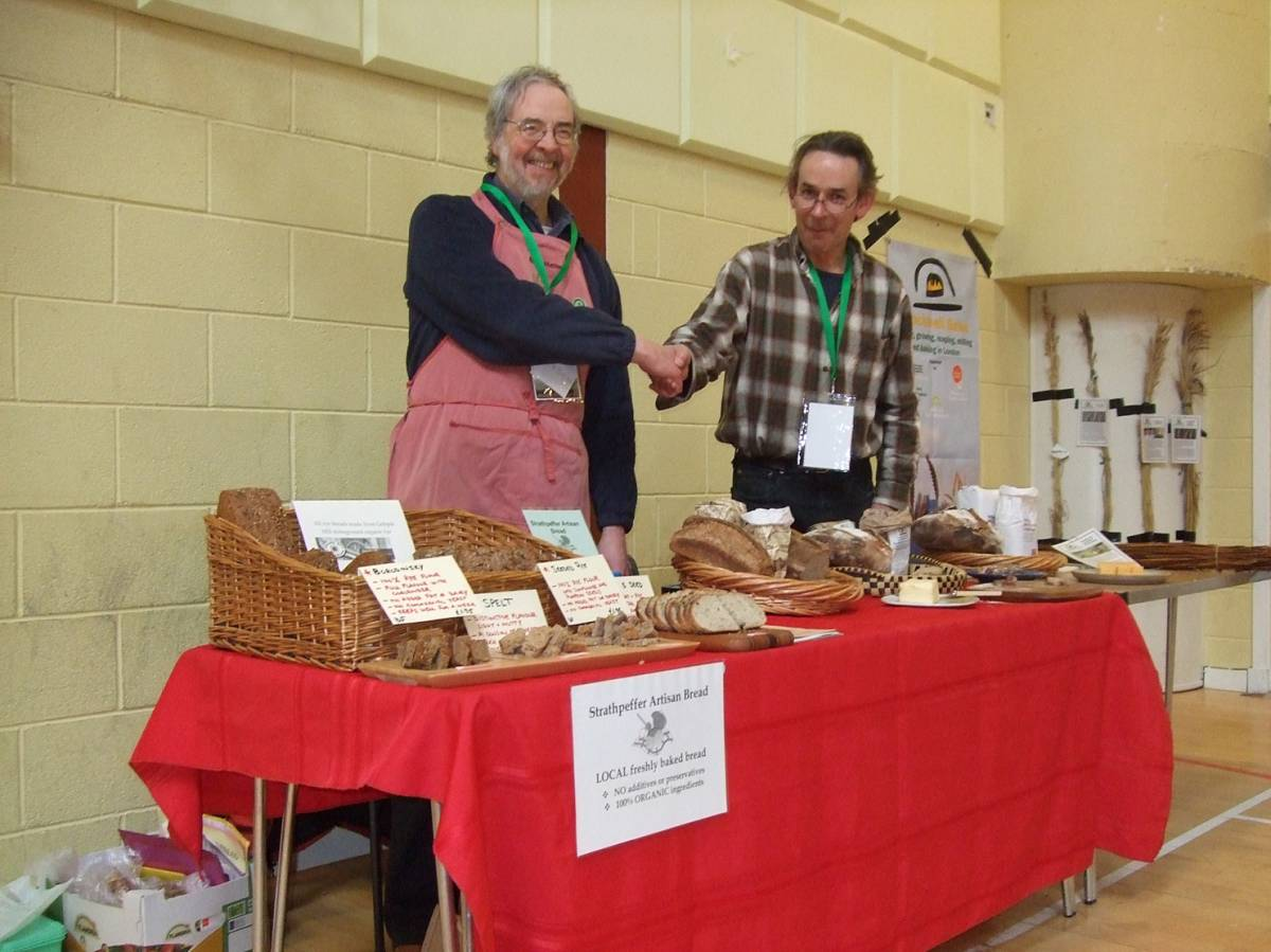 LLD forum 2012, Strathpeffer, BBA and baking stall, Crofters Fair - 2:06pm&nbsp;10<sup>th</sup>&nbsp;Mar.&nbsp;'12