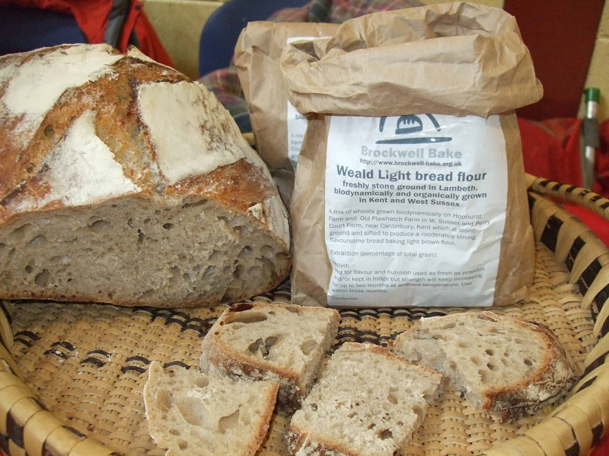 LLD forum 2012, Strathpeffer, BBA and baking stall, Crofters Fair, Brixton Sour loaf - 2:07pm&nbsp;10<sup>th</sup>&nbsp;Mar.&nbsp;'12