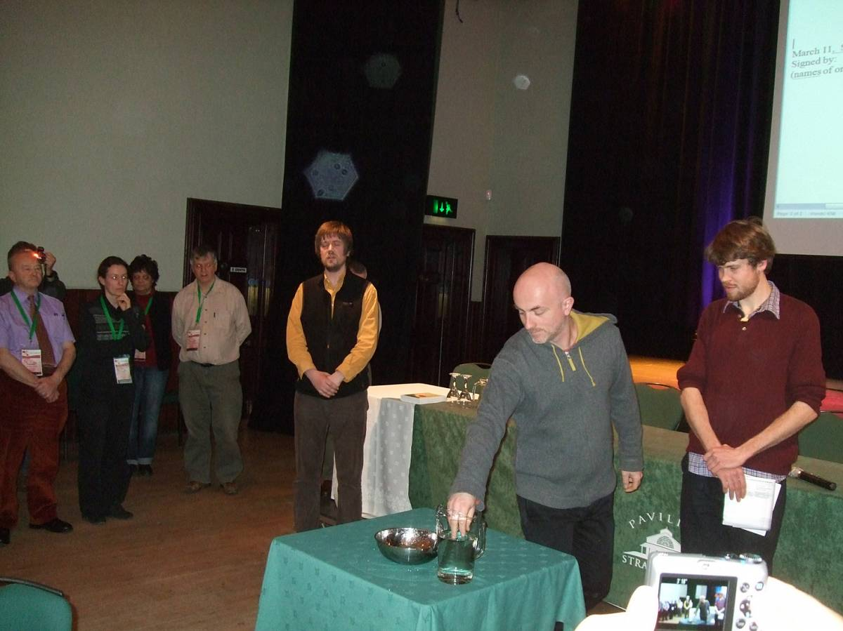 LLD forum 2012, Strathpeffer, closing ceremony - 1:20pm&nbsp;11<sup>th</sup>&nbsp;Mar.&nbsp;'12