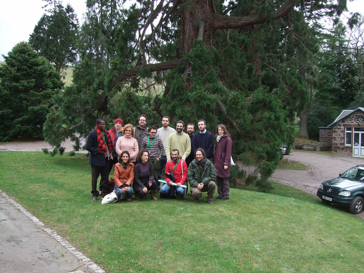 LLD forum 2012, Strathpeffer, Italian delegates - 1:33pm&nbsp;11<sup>th</sup>&nbsp;Mar.&nbsp;'12