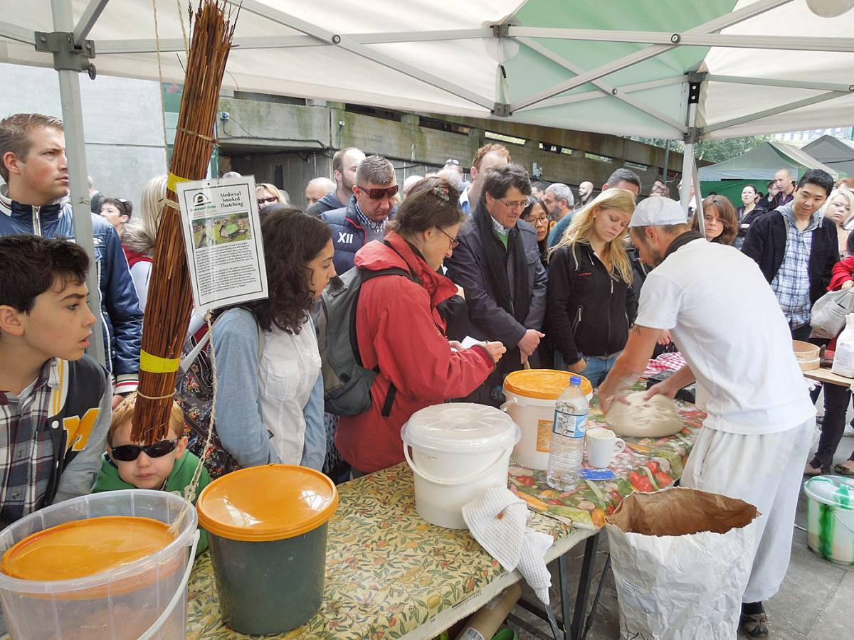 baguette day - first Real Bread Fest - 12:49pm&nbsp;7<sup>th</sup>&nbsp;Oct.&nbsp;'12