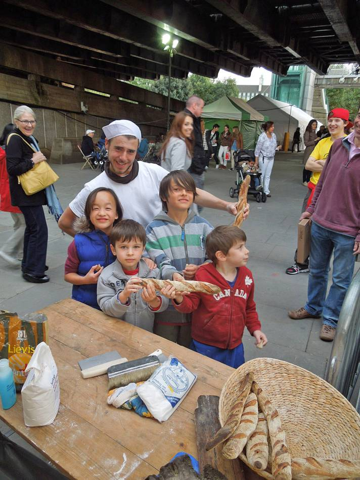 baguette rewards - first Real Bread Fest - 5:24pm&nbsp;7<sup>th</sup>&nbsp;Oct.&nbsp;'12