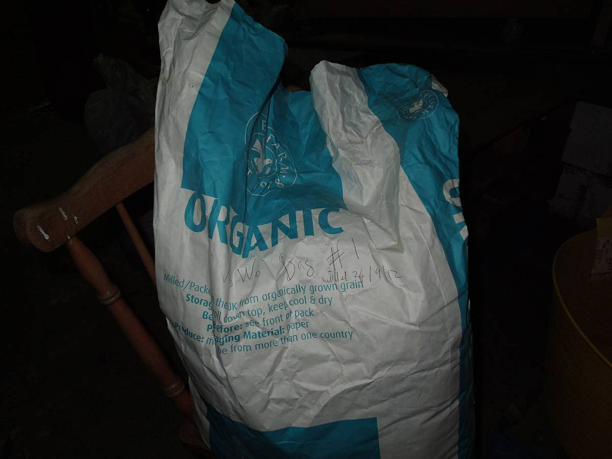 bag #1 of WoWo flour - 7:05pm&nbsp;24<sup>th</sup>&nbsp;Sep.&nbsp;'12