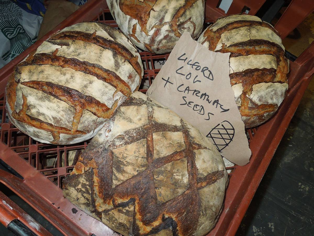 BBA bread to go - Brockwell Bake at Bread Bread #3 - 10:08pm&nbsp;16<sup>th</sup>&nbsp;Nov.&nbsp;'12