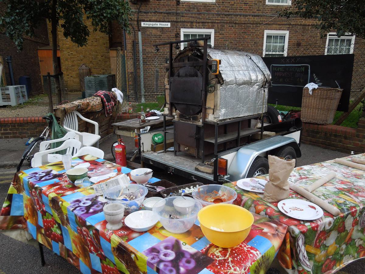 the aftermath - Cowley Community Farm, Cowley Estate Harvest Fun Day 12 - 3:58pm&nbsp;14<sup>th</sup>&nbsp;Oct.&nbsp;'12