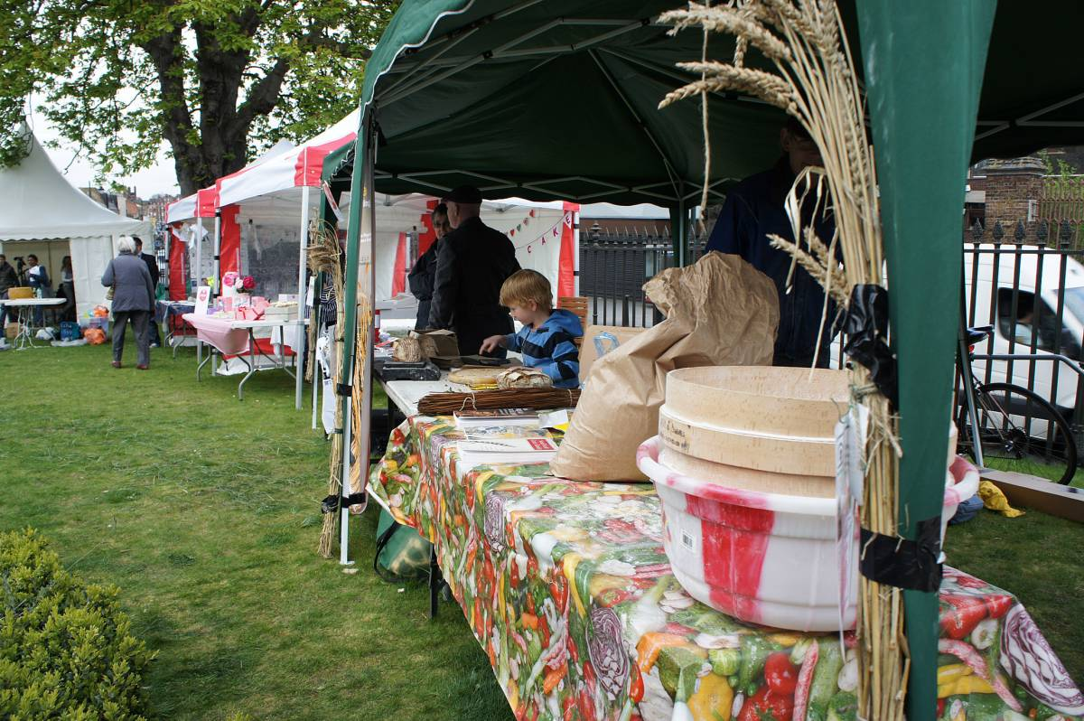 ready for the public to arrive, Norwood Slow Food Festival, 31st March 2012 - 3:13pm&nbsp;31<sup>st</sup>&nbsp;Mar.&nbsp;'12